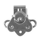 Small Surface Mount Twist Latch - Zinc