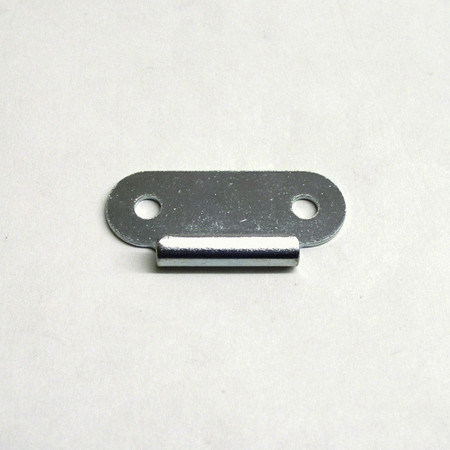 Small Surface Mount Catch/Keeper Plate - Zinc