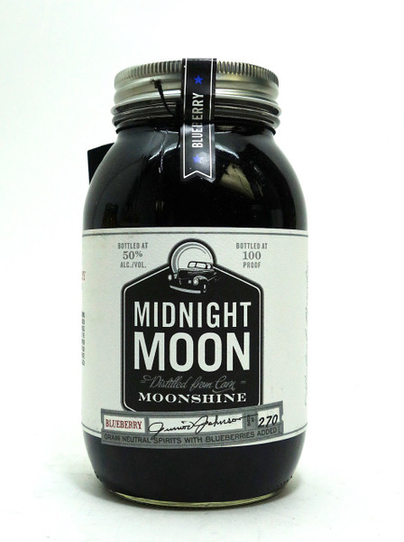 MIDNIGHT MOON BLUEBERRY MOONSHINE - www.oldtowntequila.com