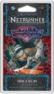 Android: Netrunner LCG 2015 World Champion Valencia - Runner Deck