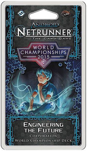Android: Netrunner LCG 2015 World Champion Engineering the Future - Corporation Deck