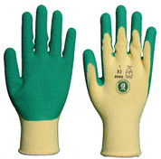 Gardeners Green Leaf Latex Coated Cotton Shell