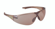 Aeris Safety Glasses- Brown Mirror