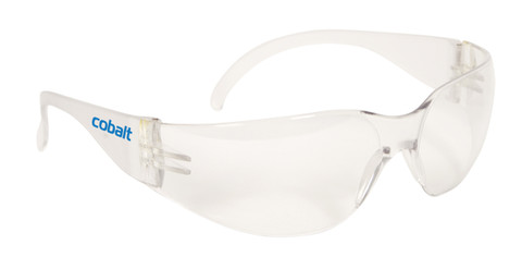 Cobalt Safety Glasses- Clear