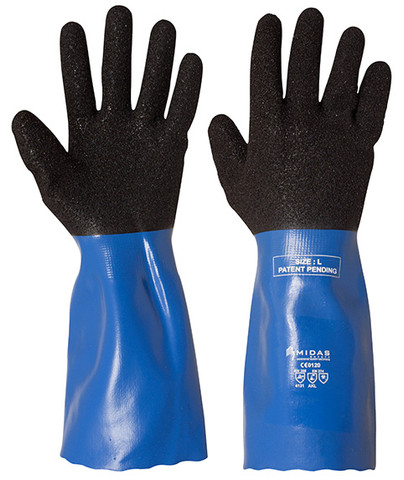Coral Chemical Glove - Grip and Dexterity