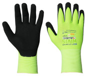 NeoFlex HiVis Nitrile Coated Breathable Glove
