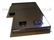 Focus Mk3 fuse box cover with logos, fits neatly over original plastic cover