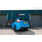 Ford Focus RS MK3 Scorpion Cat Back Exhaust (With Valve)