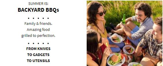 Summer is Backyard BBQs