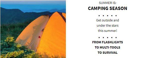 Summer is Camping Season