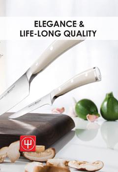 Wusthof Creme Ikon - Elegance and Life Long Quality