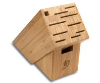 Shun Bamboo Knife Block 11 Slots (DM0831)