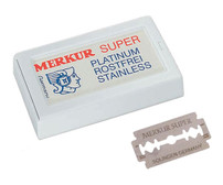 Merkur Super Platinum Safety Razor Blades - 10pc (90 91 000)