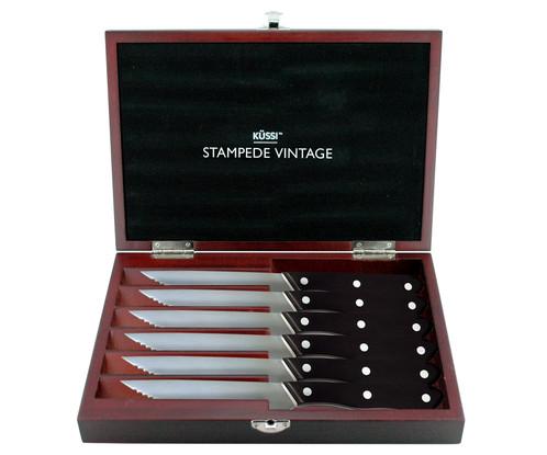 Küssi Stampede Vintage Steak Set - 6-Piece (SV150-6)