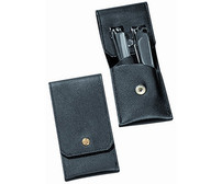 DOVO Nail Clipper Set 2pc Stainless Finish (438011)