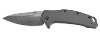 Kershaw Link Aluminum Grey - Blackwash (1776GRYBW)