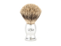 Ice Shave Brush - Pure Badger (Chrome) (ISB-PB2)
