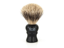 Ice Shave Brush - Pure Badger (Black) (ISB-PB1)