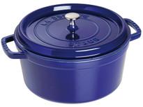 Staub Cocotte Round 7Qt/6.7L Blue (40510-285)