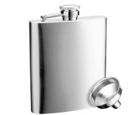 Savoir Flask - Satin - 8oz (FSAT8Z)