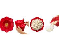 Chef'n PopTop Popcorn Popper - Cherry (102-729-005)