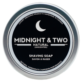 Midnight & Two Shaving Soap - Unscented (SSUNS)