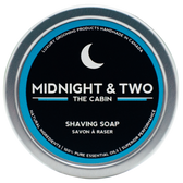 Midnight & Two Shaving Soap - The Cabin (SSCBN)