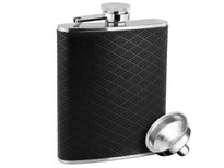 Savoir Flask Black Diamond 6oz (FLDIA6Z)