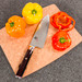 """Shun Hiro Chef w/Stand 6"""" (SG0723) - Cutting Board Sold Separately"""