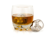 Savoir Skull Stainless Steel Whiskey Stones (SA0015)