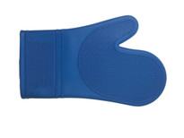 Port Style Silicone Oven Mitt - Blue (PRO2000BL)