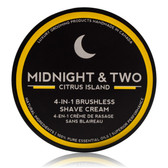 Midnight & Two Brushless Shave Cream - Citrus Island (SCCIT)