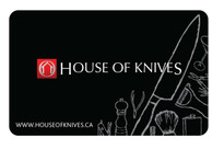 House of Knives Store Gift Card $25 (GIFTCARD25)