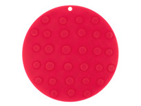 Kussi Round Suction Trivet - Red (2123R)