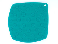 Kussi Square Suction Trivet - Blue (2122B)