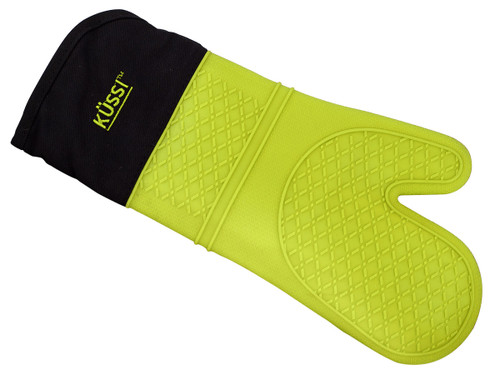 Kussi Silicone Oven Mitt Green (KUSMTGN-1)