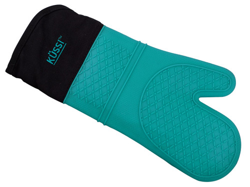Kussi Silicone Oven Mitt Blue (KUSSMBL-1)