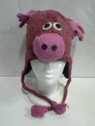 WOOLEN ANIMAL HAT 4