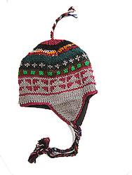 WOOLEN CAP KPW02A13