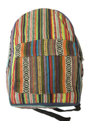 Cotton Rasta Bagpack 20