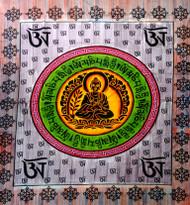 Om buddha brush