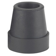 "Large Base Quad Cane Tips, 3/4"", Black"