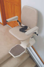 Harmar Pinnacle SL600 Premium Stair Lift Straight DC Battery Powered Indoor Chair Lift