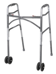 "Heavy Duty Bariatric Walker Wheels, 5"", 1 Pair"