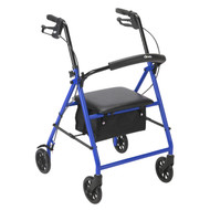 """Rollator with 6"""" Wheels, Blue"""