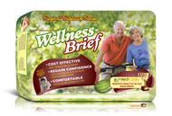 Unique Wellness® Adult Diaper Superio® Signature Series Wellness Briefs (Tape On) w/ NASA Technology - Case