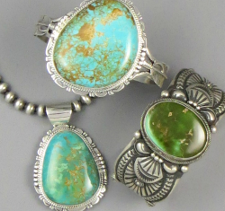 Manassa Turquoise Jewelry