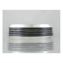 Tom Lewis Sterling Silver Channel Bracelet