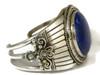 Handmade Silver Lapis Bracelet by Fritson Toledo