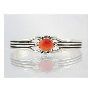 Sterling Silver Spiny Oyster Shell Bracelet (BR3059)